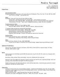 Free Resume Editor