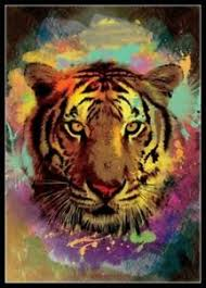 Tiger Color Chart Details About Chart Needlework Crafts Diy Counted Cross Stitch Kits Color Tiger