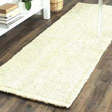 ivory jute rug natural fiber coastal geometric hand woven jute ivory runner rug hall runners bleached ivory jute rug