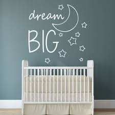 dream big wall decal nursery decals