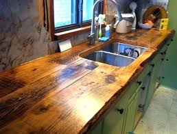 wood kitchen countertop oil finish make your own counter gorgeous charming and classy wooden kitchens bo