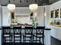 chandelier with drum shade kitchen light inspiring black