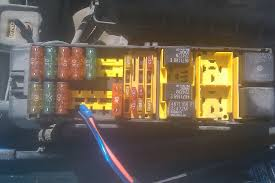 fixing clanks holes jeep tj help fuel economy hypermiling fuse box the wiring plugs into the yellow 20amp fuse that s near the relays