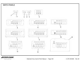 switch panels detroit wrecker sales Jerr Dan Light Bar Wiring Diagram bracket 2 function switch panel bracket 2 function switch panel Jerr-Dan Parts Manual