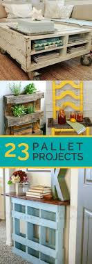 pallet furniture pinterest. 23 Awesome DIY Wood Pallet Ideas Furniture Pinterest