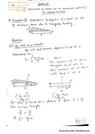 Rcc Cantilever Beam Design Example Example On Deflection Calculation For Cantilever Beam