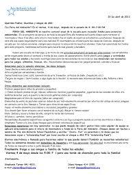 Letter Salutations In Spanish It Resume Cover Letter Sample