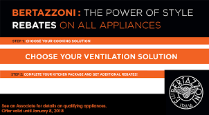 Offer On Kitchen Appliances Bertazzoni Ranges Italian Kitchen Equipment Appliance Canada
