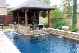 pool designs with bar. Dry Stack - Custom Swimming Pool North Richland Hills, TX Traditional   Landscape Pinterest Bar, Bar And Backyard Designs With E