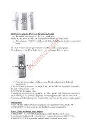 Cenix VR-800 J Dijital Ses Kayıt Cihazı - Kullanma Kılavuzu - Sayfa:9 -  ekilavuz.com