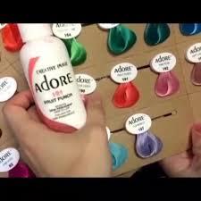 Работа нашего клиента... - <b>Adore</b> - цветная <b>краска для волос</b>