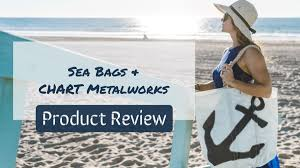 Chart Metalworks Portland Maine Product Review Sea Bags Chart Metalworks