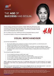 Retail Visual Merchandiser Resume Retail Merchandiser Resume Sample