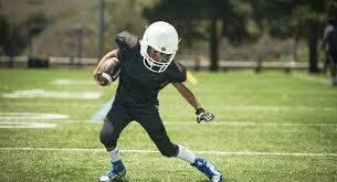 Teen boy football camp in california