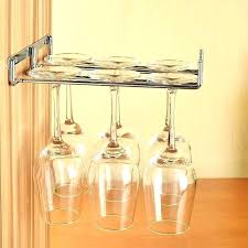 wine glass holder rack inspiration gallery from great and simple wall mount diy wooden wine glass cabinet rack