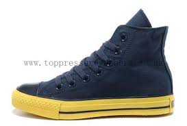 converse shoes black and blue. navy yellow korea edition high tops ct as new style converse shoes specialty foxing ox sole black and blue m