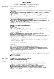 Engineer Supply Chain Resume Samples Velvet Jobs