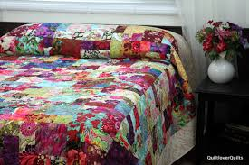 king size patchwork quilts. Contemporary King King Size Bed Quilt Designer Medley BOTANICA 100 In Size Patchwork Quilts V