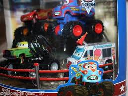 Disney Cars Toon Monster Truck Mater Deluxe Figurines~ | #144807889