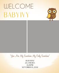 birth announcement templates diy baby announcement template free psd download