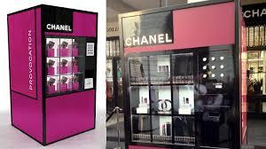 Chanel Vending Machine Classy ตู้ขายมาสคารา Chanel อัตโนมัติ เปิดตัวแล้วที่อังกฤษ Marketing Oops