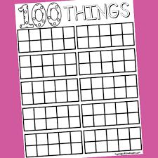 100 Days Of School In Pre K Prekinders