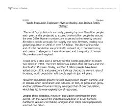 an essay on population explosion short paragraph on population explosion important