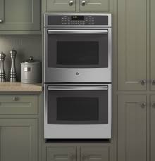 Electric Wall Oven 24 Inch Gear 27 Built In Double Convection Wall Oven Jk5500sfss Ge
