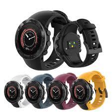 Silicone Watch Strap For SUUNTO 5 Smart Watch For SUUNTO ...