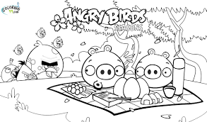 Angry Birds Coloring Pages Movies And Tv Coloring Pages Bird