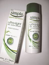 Simple Ultra Light Gel Moisturizer The Beauty Alchemist Simple Nourishing 24 Hr Day Night