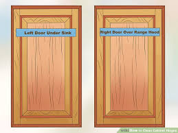image titled clean cabinet hinges step 1