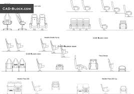 dining chair side elevation cad block. auditorium armchairs - cad blocks, autocad file dining chair side elevation cad block 7