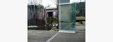 commercial frameless folding doors