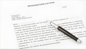 30+ Formal Resignation Letter Samples | Sample Templates