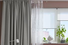 window blinds and curtains. Interesting Curtains MAJGULL Blackout Curtains 1 Pair Light Gray Inside Window Blinds And Curtains G