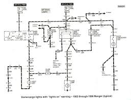 1989 ford bronco radio wiring diagram wiring diagram schematics ford ranger wiring by color 1983 1991