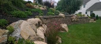 retaining walls sitting walls