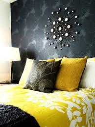 grey yellow bedroom hd