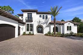 A White Mediterranean Style Home