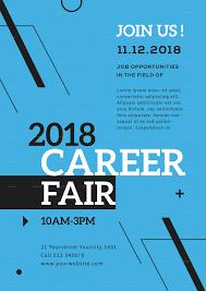 Design Job Fair Career Fair Flyer Template