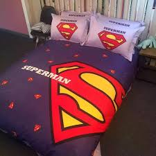 superman bedding set queen size 2 100x100 superman bedding set