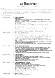 Production Manager Resumes Resume Examples By Real People Production Manager Resume