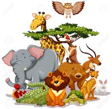 group of animals clipart. Exellent Animals Intended Group Of Animals Clipart