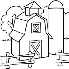 18 Best Barn Coloring Page Images In 2019