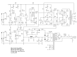 marshall schematics gif plexi amp schematic