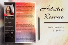 An Artistic Resume Design Red Hot Chili Pepper