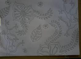 Setelan motif batik anak sd. Contoh Sketsa Batik Guru Ilmu Sosial