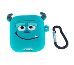 Cute AirPods Case, ifctn Shockproof Protective <b>3D Silicone</b> Cartoon