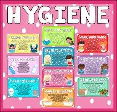 Hygiene Posters Worksheets Teachers Pay Teachers
